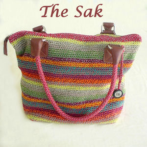 The Sak Indio Crochet Bag Multicolor Gypsy Stripe
